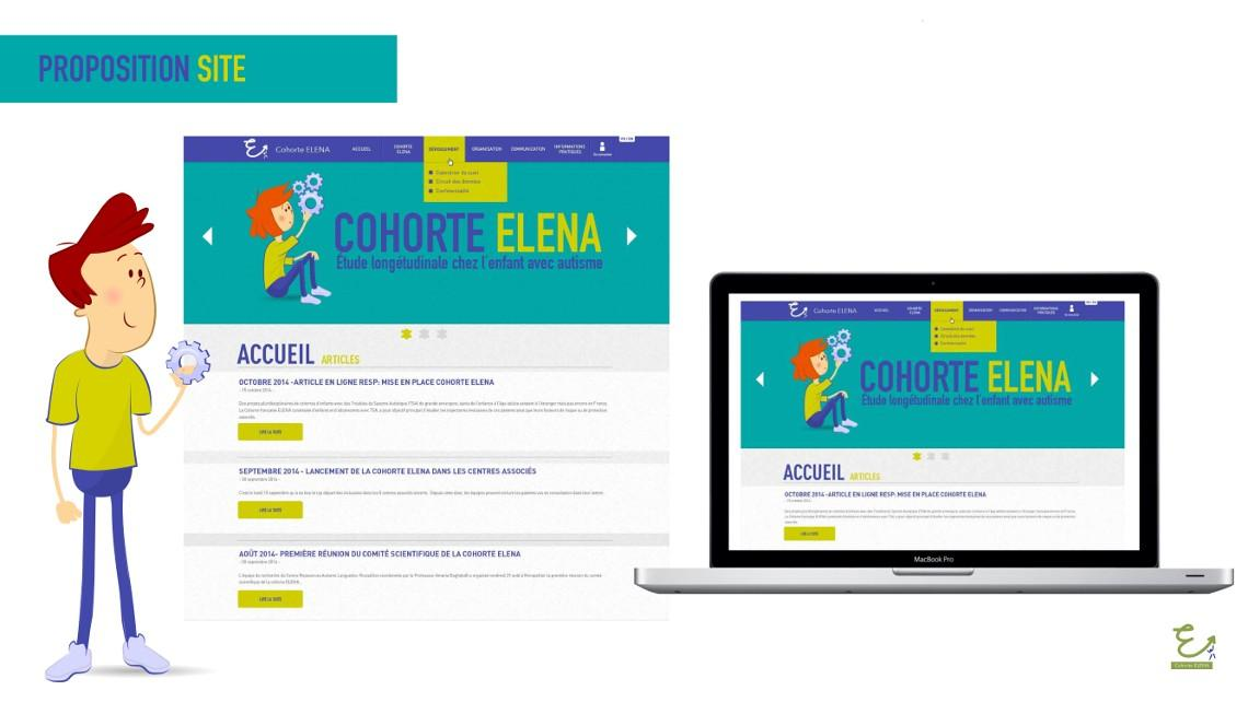 Proposition Site Cohorte Elena