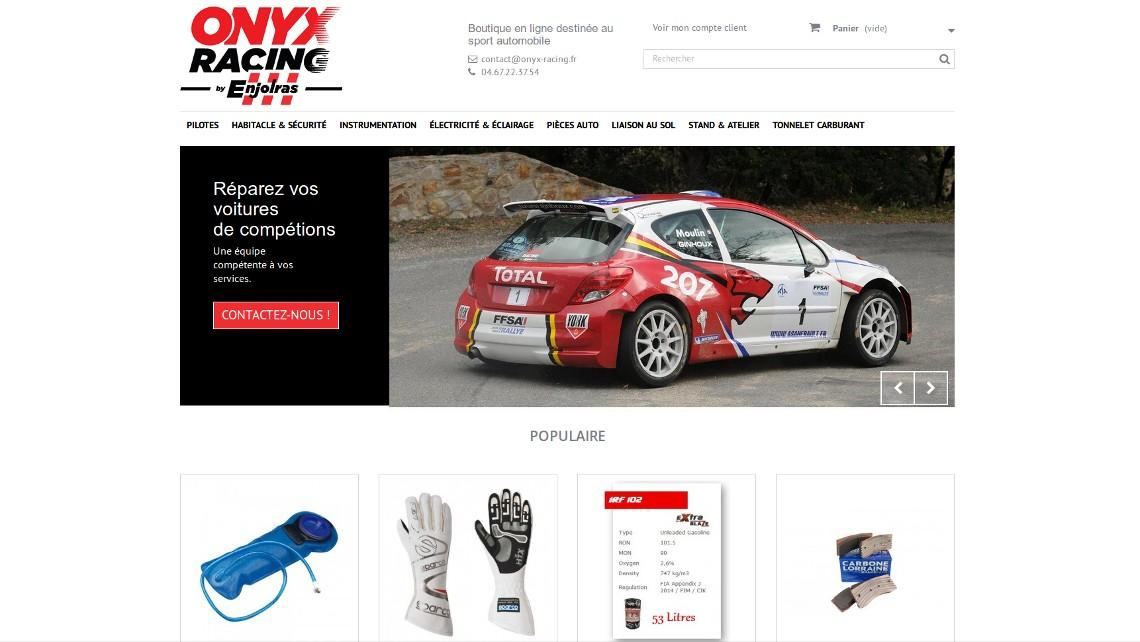 Page d'accueil Onyx Racing